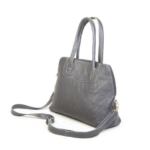 Mirelle Genuine Leather Framed Tote Handbag - Small - Mirelle Leather & Lifestyle