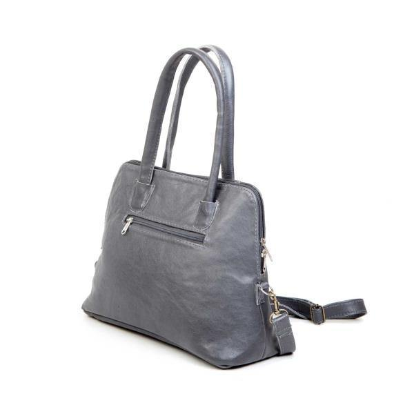 Mirelle Genuine Leather Framed Tote Handbag - Small - Mirelle Leather and Lifestyle