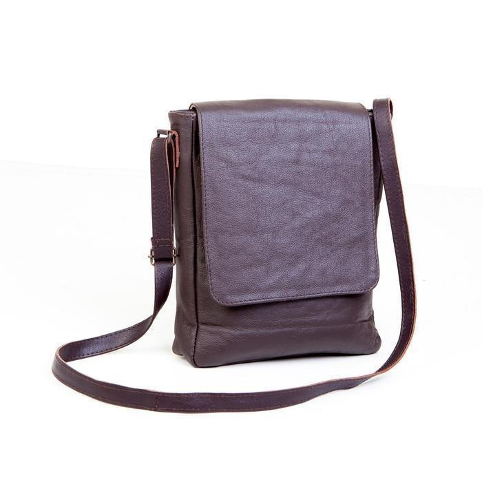 Mirelle Genuine Leather Tablet Messenger Sling Bag - Mirelle Leather & Lifestyle