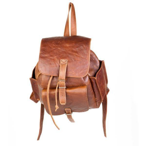 Mirelle Genuine Leather Tourist Backpack Handbag - Mirelle Leather and Lifestyle
