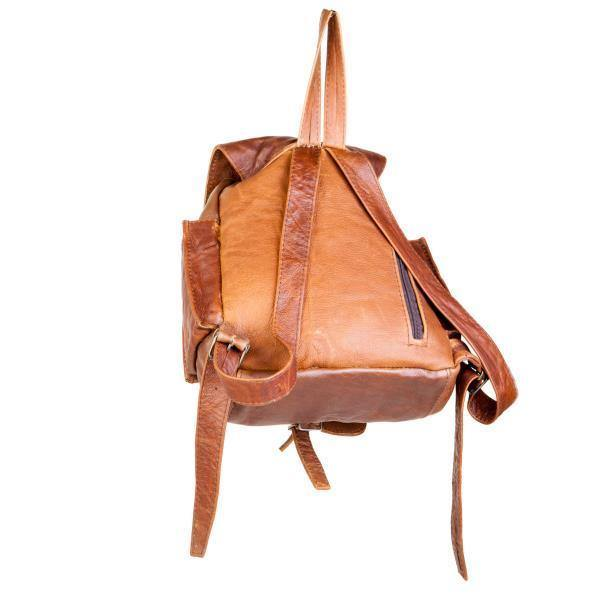 Mirelle Genuine Leather Tourist Backpack Handbag - Mirelle Leather & Lifestyle