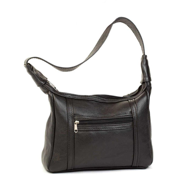 Mirelle Genuine Leather Under The Arm Shoulder Handbag - Black - Mirelle Leather and Lifestyle