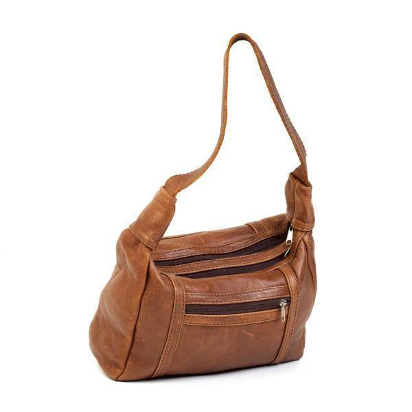 Mirelle Genuine Leather Under The Arm Shoulder Handbag - Tan - Mirelle Leather and Lifestyle