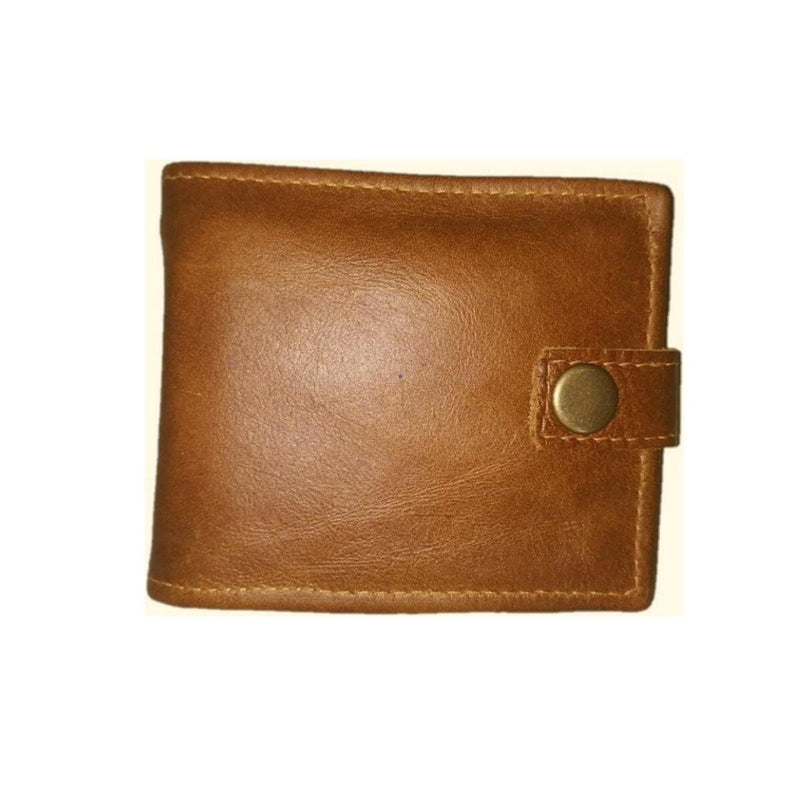 Mirelle Men'S Wallet With Press Stud Closure - Mirelle Leather and Lifestyle