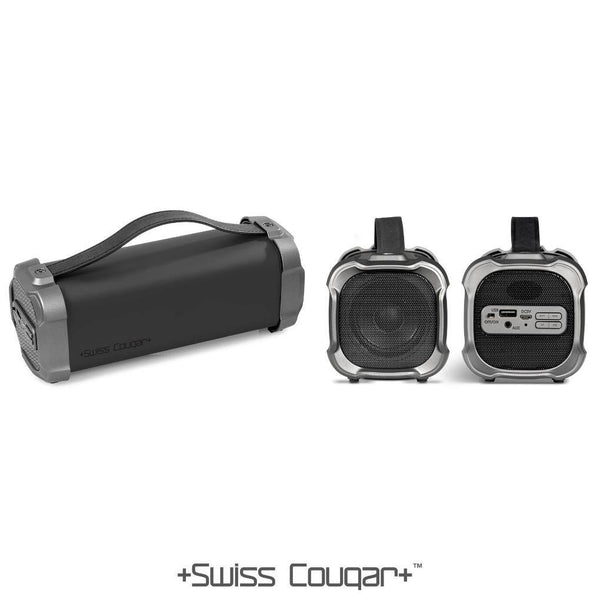 Swiss Cougar Chicago Bluetooth Speaker & Fm Radio - Mirelle Leather & Lifestyle