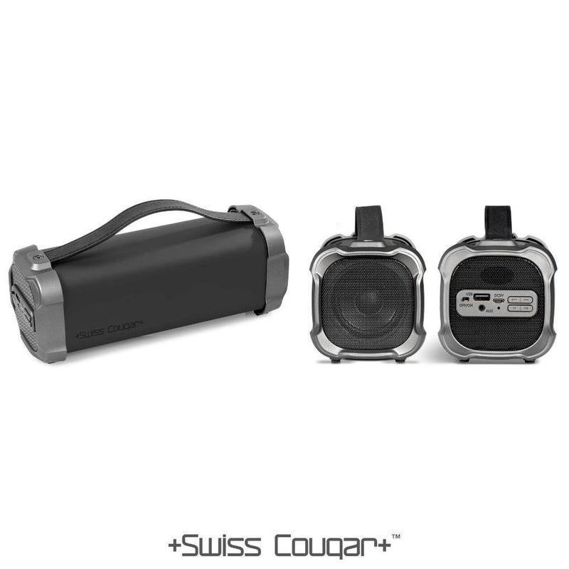 Swiss Cougar Chicago Bluetooth Speaker & Fm Radio