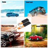 180X70X38CM Heavy Duty Snow Mud And Sand Tire Traction Device Anti-Skid Tire Blocks Car Vehicle  Tire Anti-Skid Block - handiestthings.com