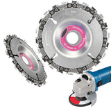 4 Inch Grinder Disc Chain Saw 4 Inch Angle Carving  For 100/115 Angle Grinder - handiestthings.com