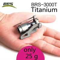 BRS Portable Mini Camping Titanium Stove Outdoor Gas Stove Survival Furnace Stove Pocket Picnic Cooking Gas Burner brs-3000t - handiestthings.com