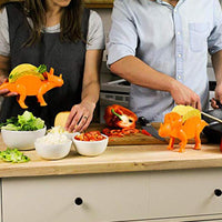 Kitchen Supplies Dinosaur Food Holder Cornmeal Burritos Holder Taco Holder Food Display Holders Kitchen Food Rack Shell - handiestthings.com