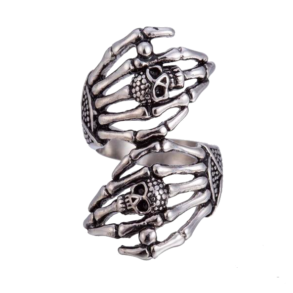 Full Finger skull Ring - handiestthings.com