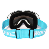 WOSAWE Ski Glasses With Case Set UV400 Anti-fog Spherical Ski Goggles Double Layers Skiing Men Women Snow Goggles - handiestthings.com