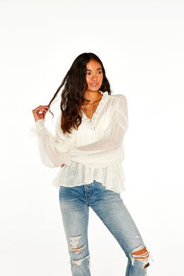 Layered Semi Sheer Top