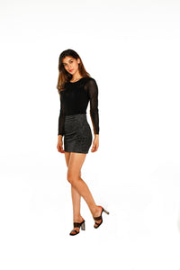 Countdown Mini Skirt