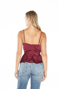 Nile Wrap Top