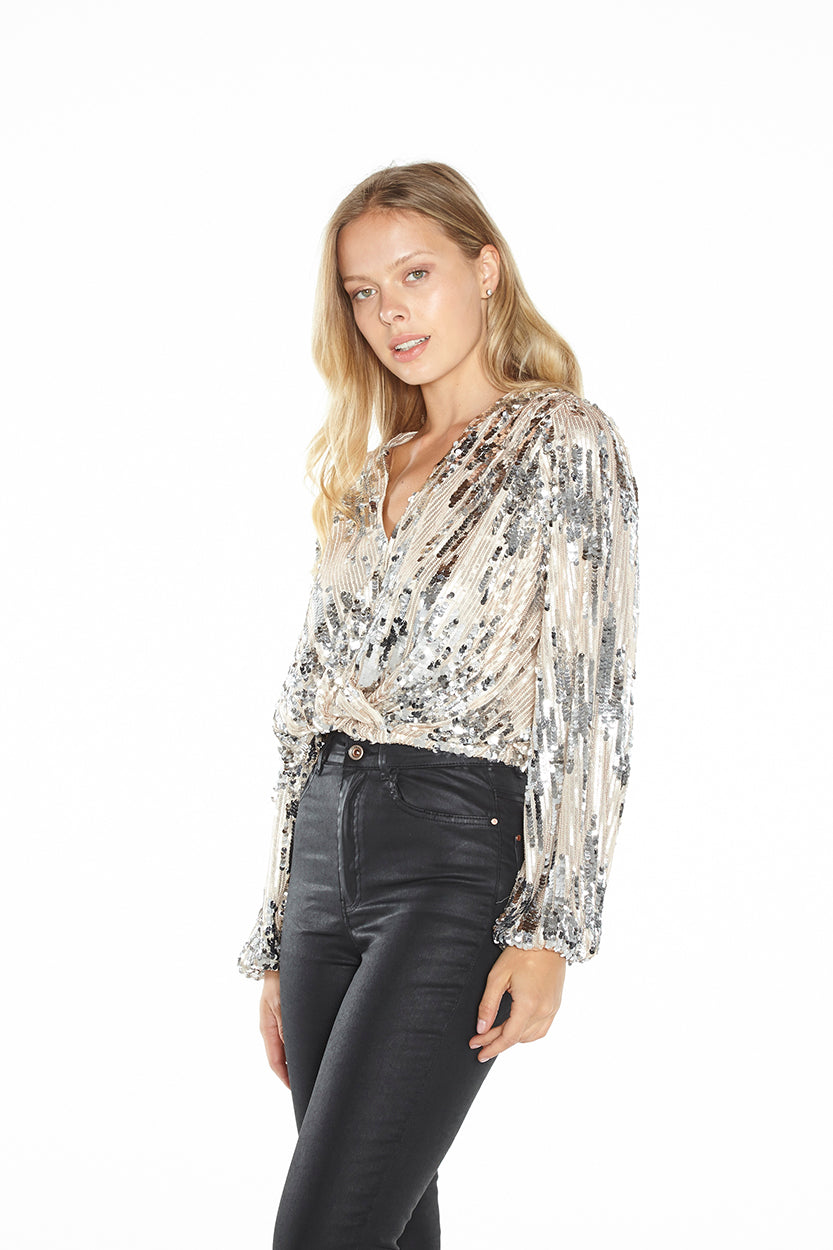 Primadonna Sequin Top
