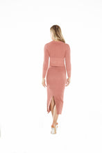 Load image into Gallery viewer, Blush Knit Set Skirt