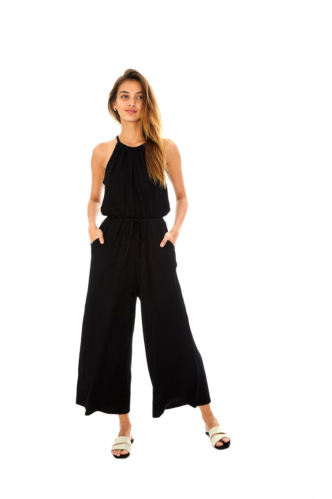 Ribbed Jersey Jumpsuit