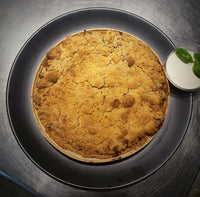 Rhubarb Crumble Pie Family Size