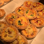 Brie, Walnut and Leek Quiche