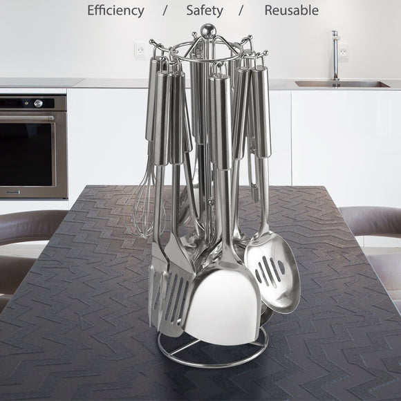 13 Pcs Stainless Steel Kitchen Utensils