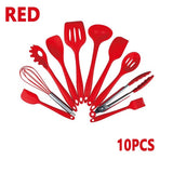 10/11PCS Silicone Kitchenware