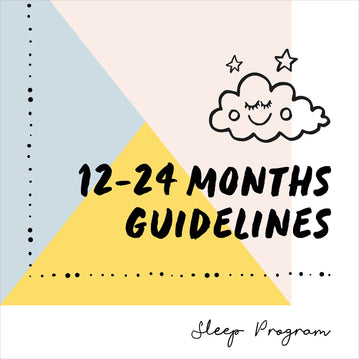 12-24 Months Sleep Guidelines