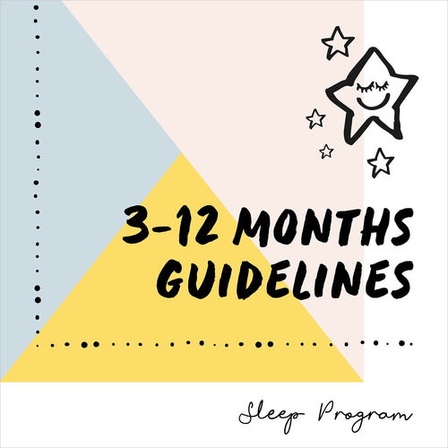 3-12 Months Sleep Guidelines
