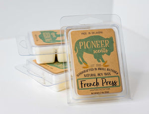 French Press Soy Wax Melt