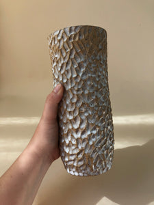 Tall Carved Vase