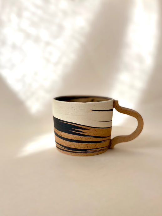 Three Clay Marble Mug (matte)