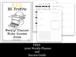 **FREE**   Weekly Planner Niche Success Pack   **FREE**