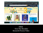 FREE Over The Shoulder 38 Minute Research Walkthrough Video