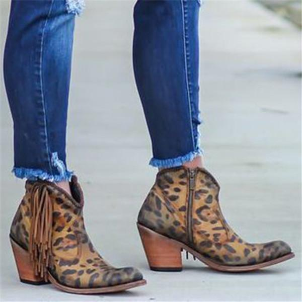 Lovely Leopard Print from Liberty Black | Cowboy boots women