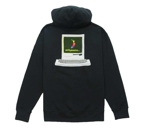 Snackintosh Hoodie - Black