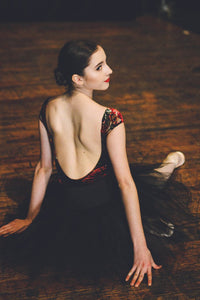 Audition Dancewear Adult Sylvie Leotard - Etoile Velvet