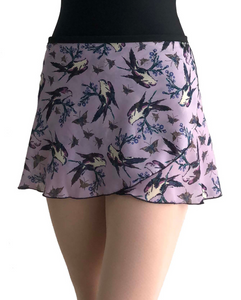 Jule Dancewear Wrap Skirt - Flutter