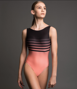 Motionwear Stripe Print Leotard - 4244