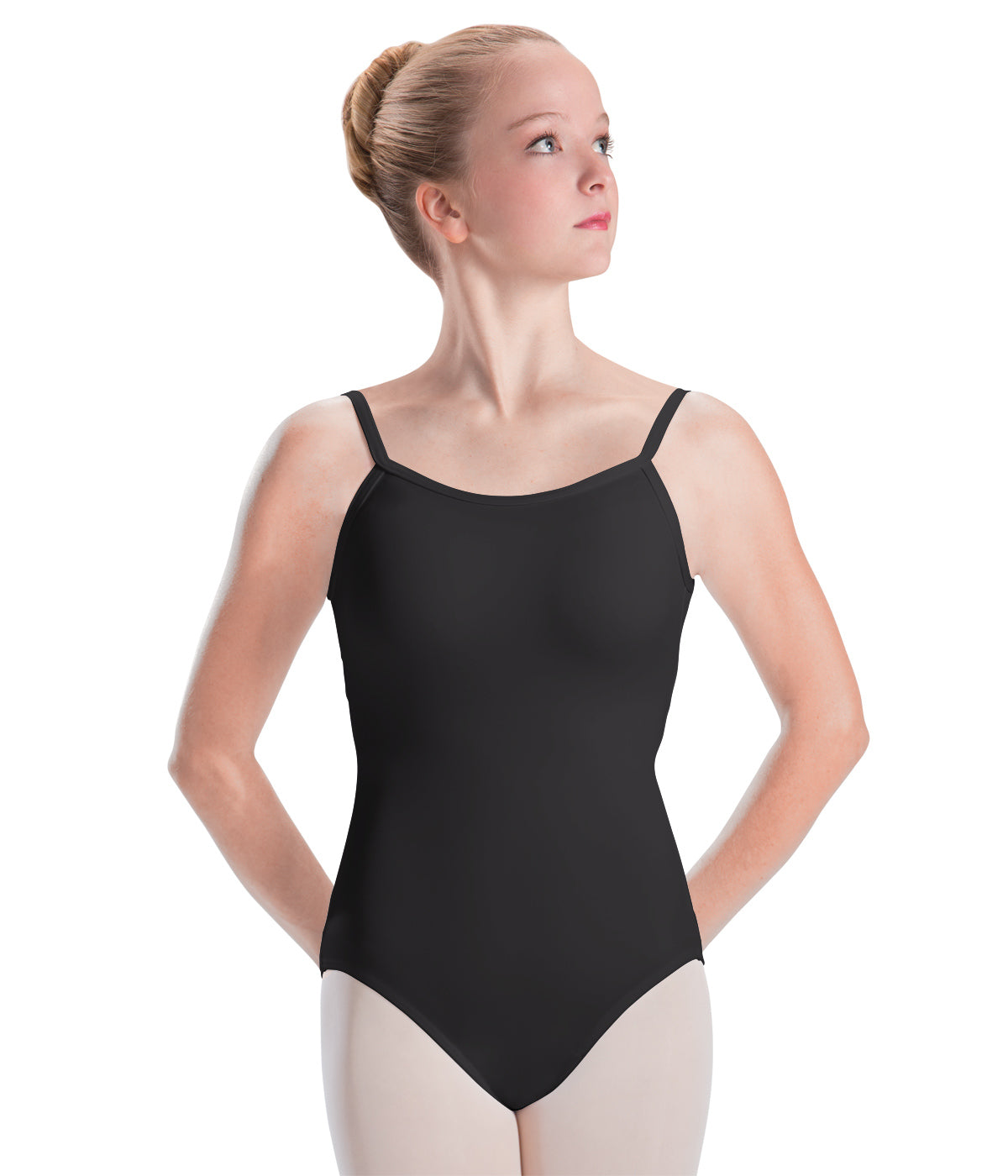 Motionwear X-Back Camisole Leotard - 2604