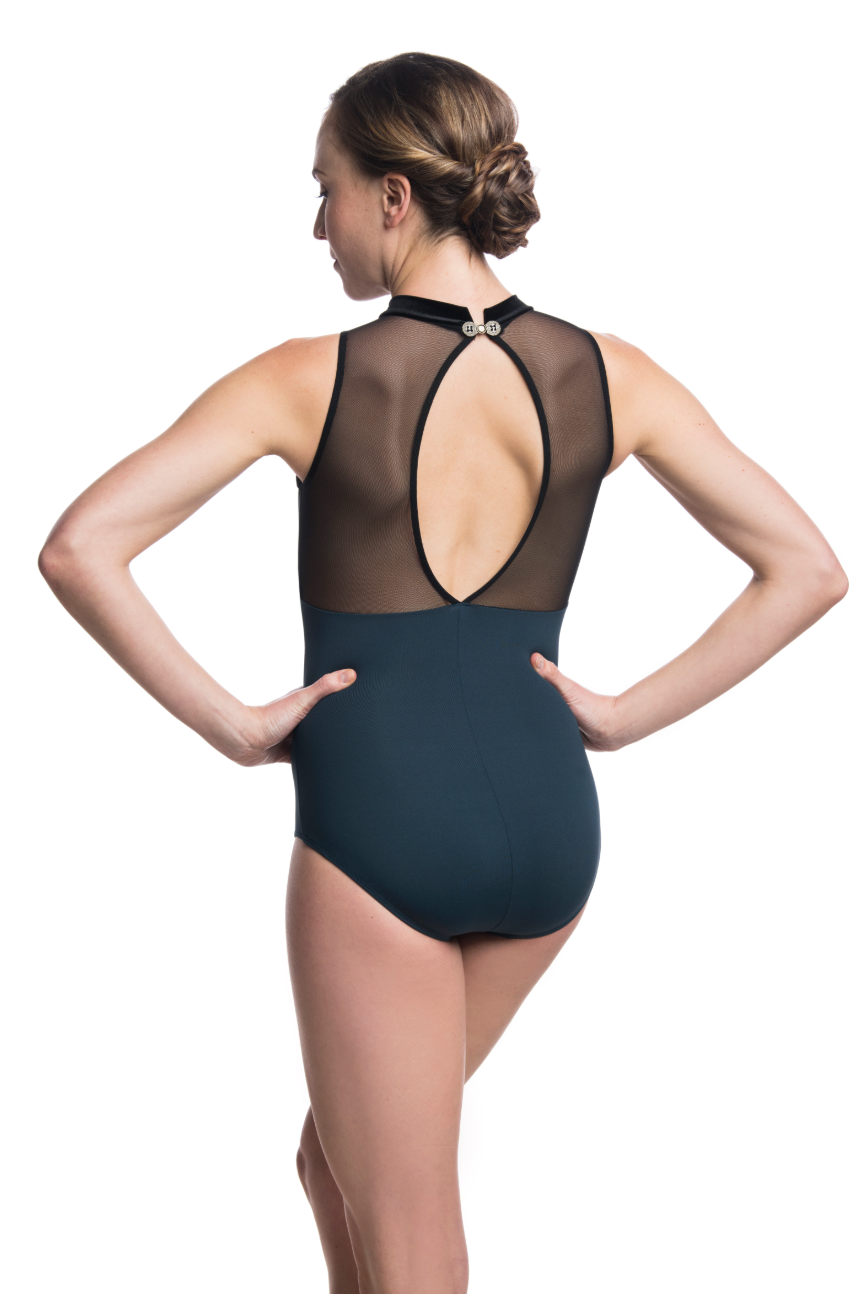 Ainsliewear Karina Leotard with Mesh - 1052MEV