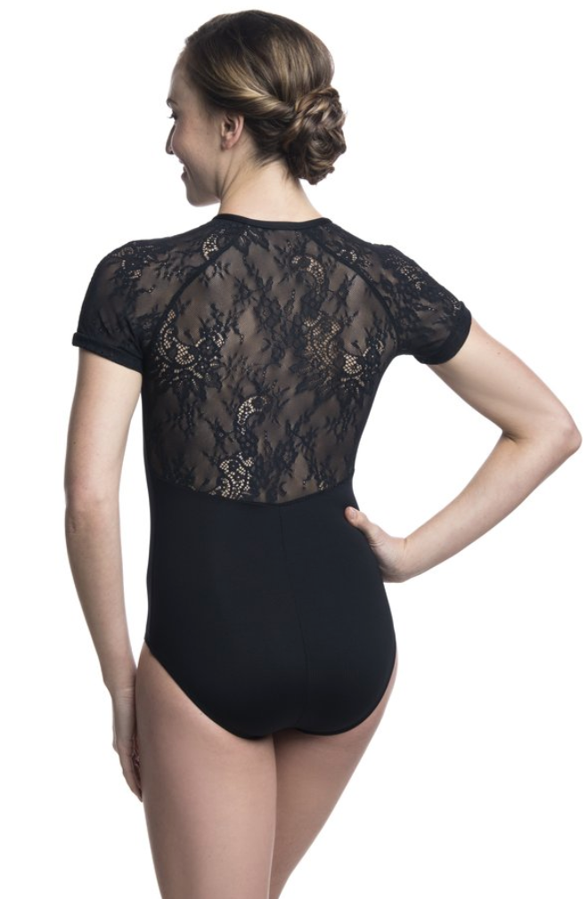 Ainsliewear Emily Leotard with Kara Lace - 1068KL