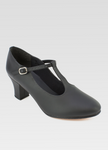 So Danca Christa Leather T-Strap Character Shoe - CH54