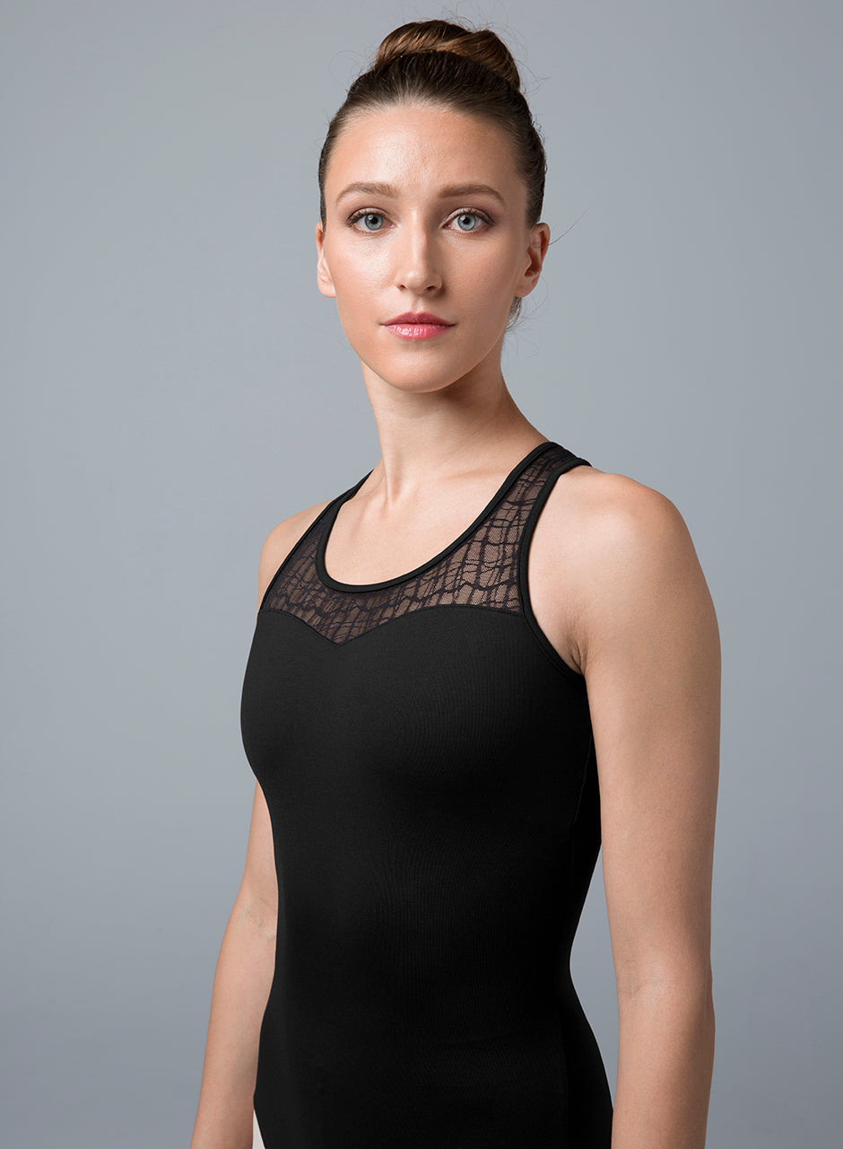 Bloch Cross Back Leotard - L4805