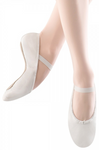 Bloch Dansoft White Leather Ballet Slippers - S0205G/S0205L