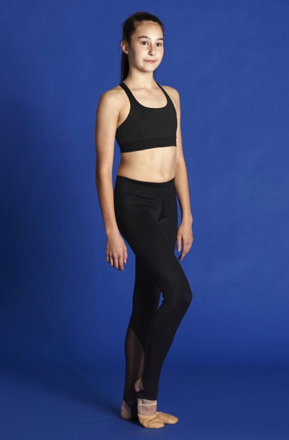 Bloch Cross Back Crop Top - BM228T