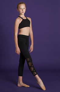 Bloch Girls Criss Cross Leggings - BM213P
