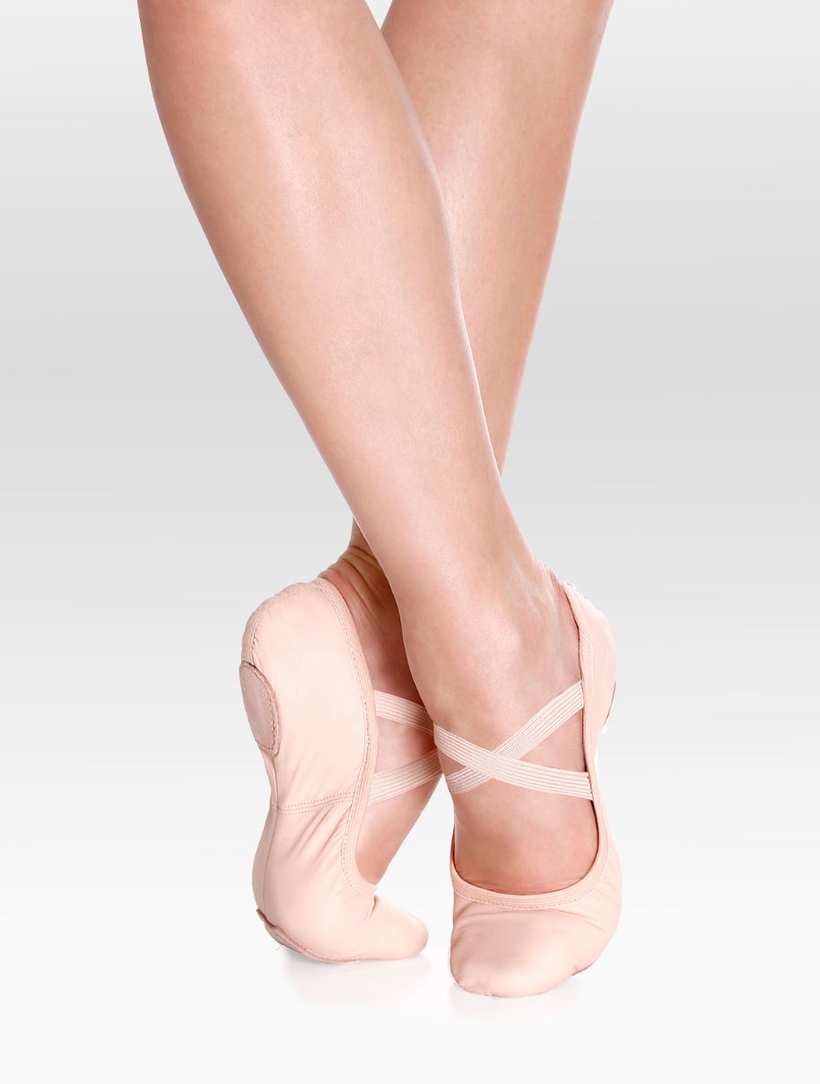 So Danca Brit Leather Split Sole Ballet Slipper - SD60L