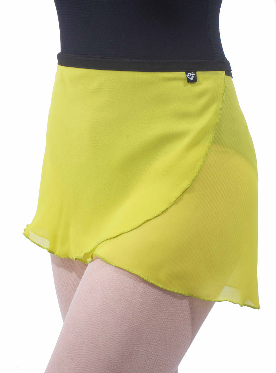 Jule Dancewear Girls Wrap Skirt - Assorted Solid Colors