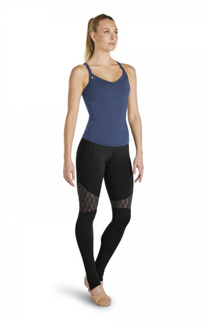 Bloch Stirrup Legging with Mesh Inserts - FP5044