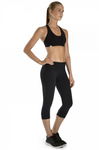 Bloch Mid-rise 3/4 Leggings - TCO1536S